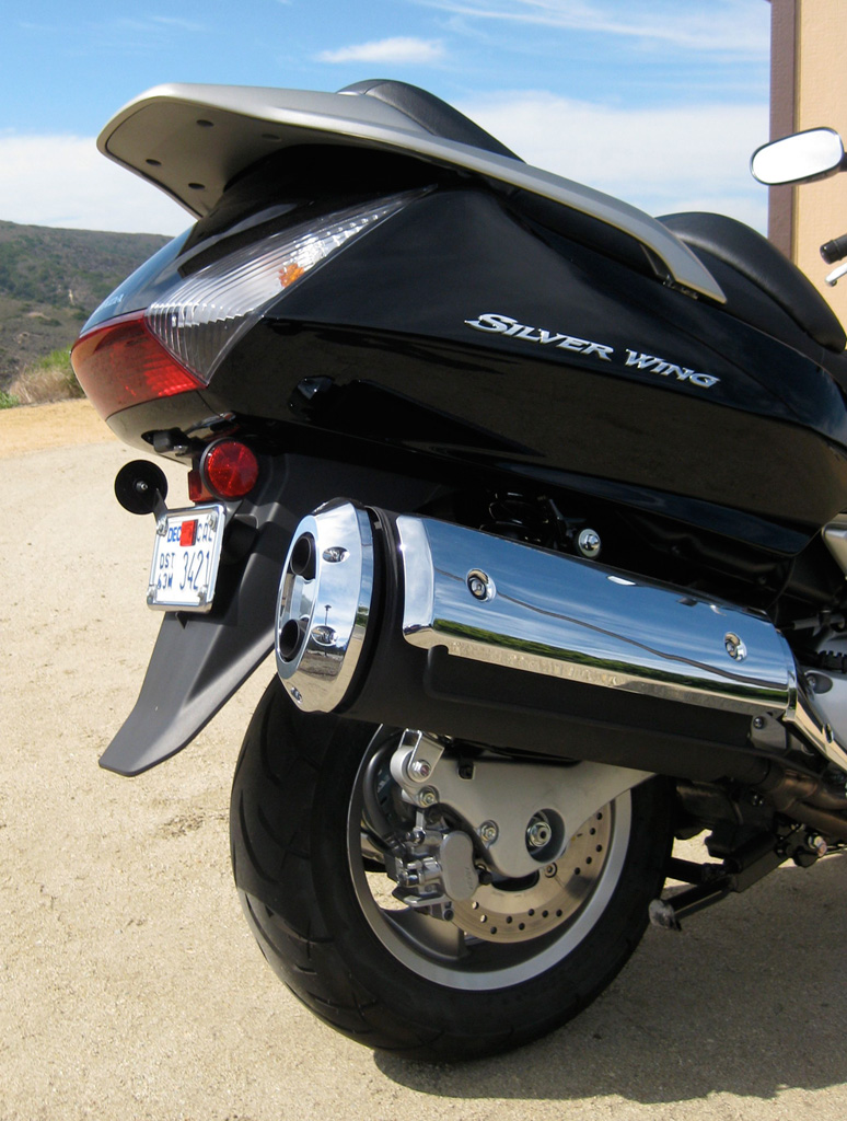 2011 Honda Silver Wing ABS Rear