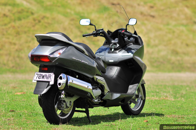 Honda Silver Wing - The Scooter Review
