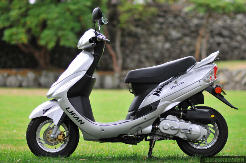 Lifan Metro 50 LF50QT-2A - The Scooter Review