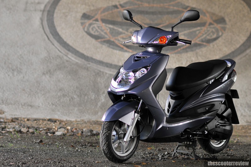 Yamaha Cygnus X125 - The Scooter Review