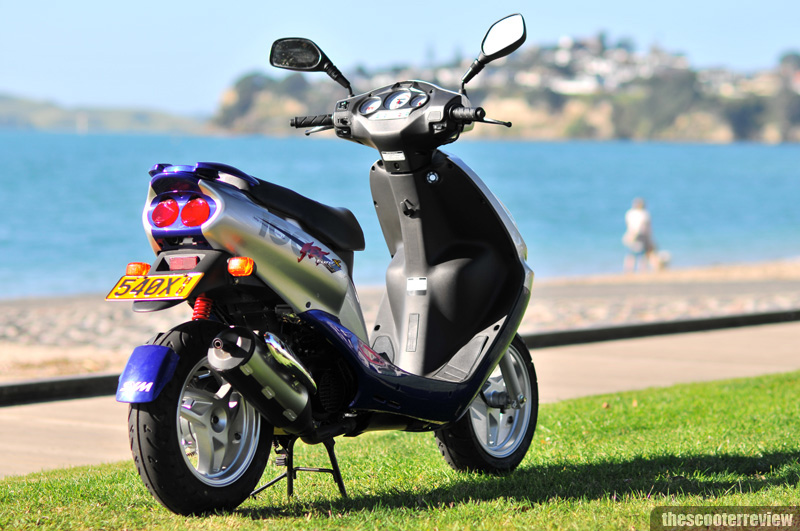 SYM Jet Euro X 100 - The Scooter Review